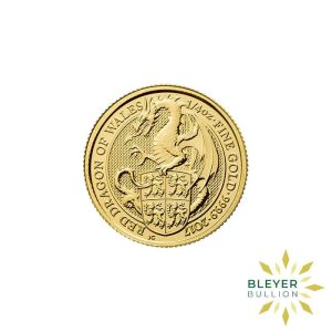 Bleyers Coins 14oz Gold UK Queens Beasts Dragon 2017 1