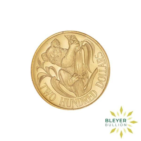 Bleyers Coins Australian 10g 200 Gold Koala 1984 2