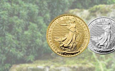 New 2021 UK Britannia Coin