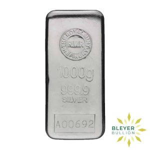 Bleyers Bar 1kg The Royal Mint Cast Silver Bar 4