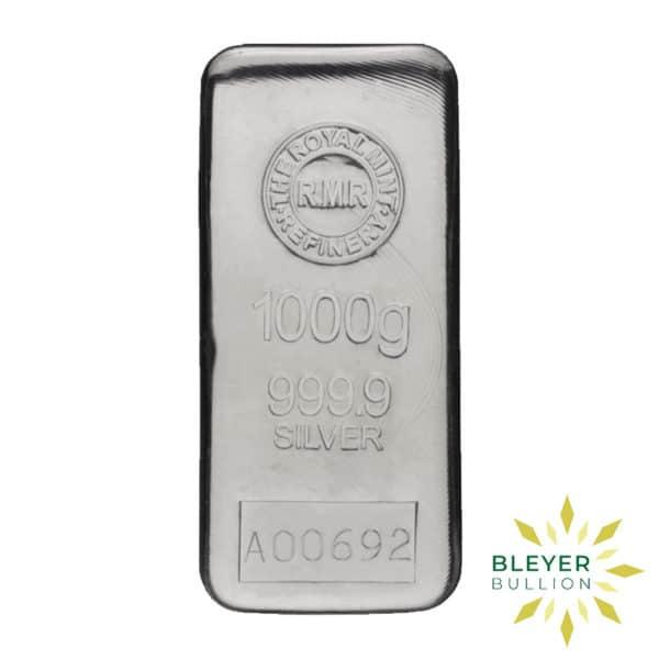 Bleyers Bar 1kg The Royal Mint Cast Silver Bar 4