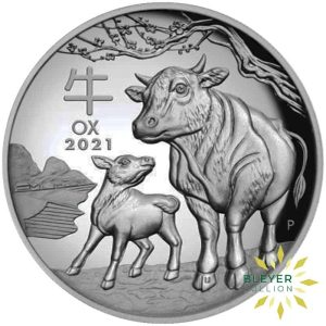 Bleyers Coin 1kg Ox 2021 FRONT