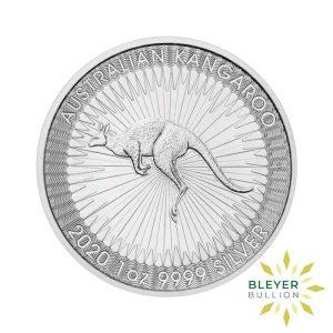 Bleyers Coin 1oz Silver Australian Kangaroo 2020 1