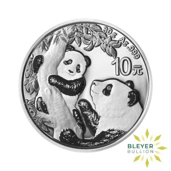 Bleyers Coin 30g Silver Chinese Panda Coin 2021 1