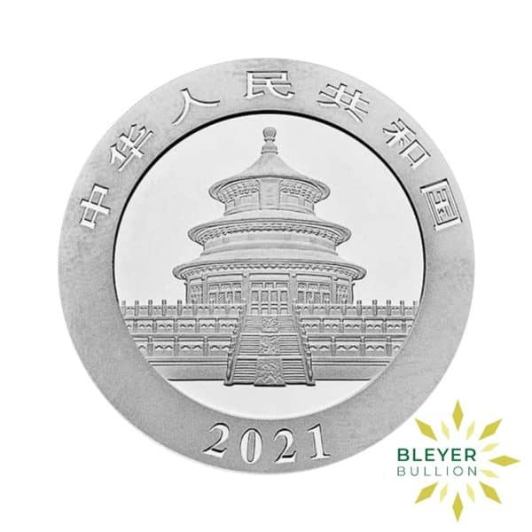 Bleyers Coin 30g Silver Chinese Panda Coin 2021 2