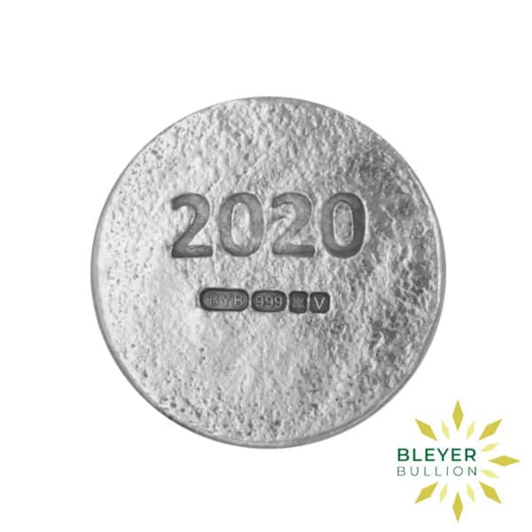 Bleyers Coins 1oz Silver Bleyer Hand Poured Unity Round 2020 2