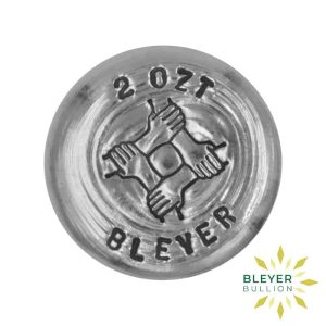 Bleyers Coins 2oz Silver Bleyer Hand Poured Unity Round 2020 1