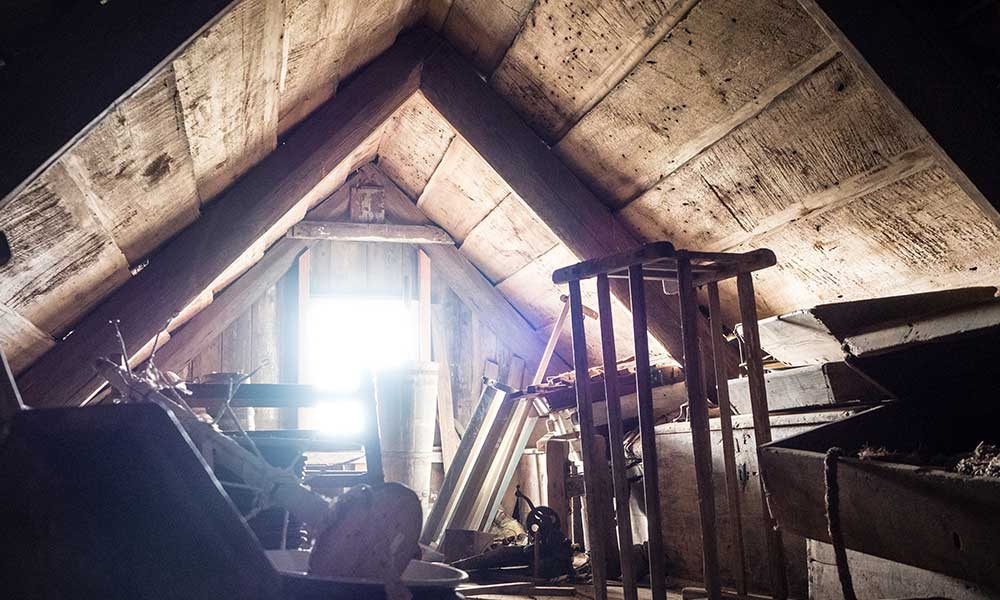 Keep your bullion secret and store it in the back of the attic