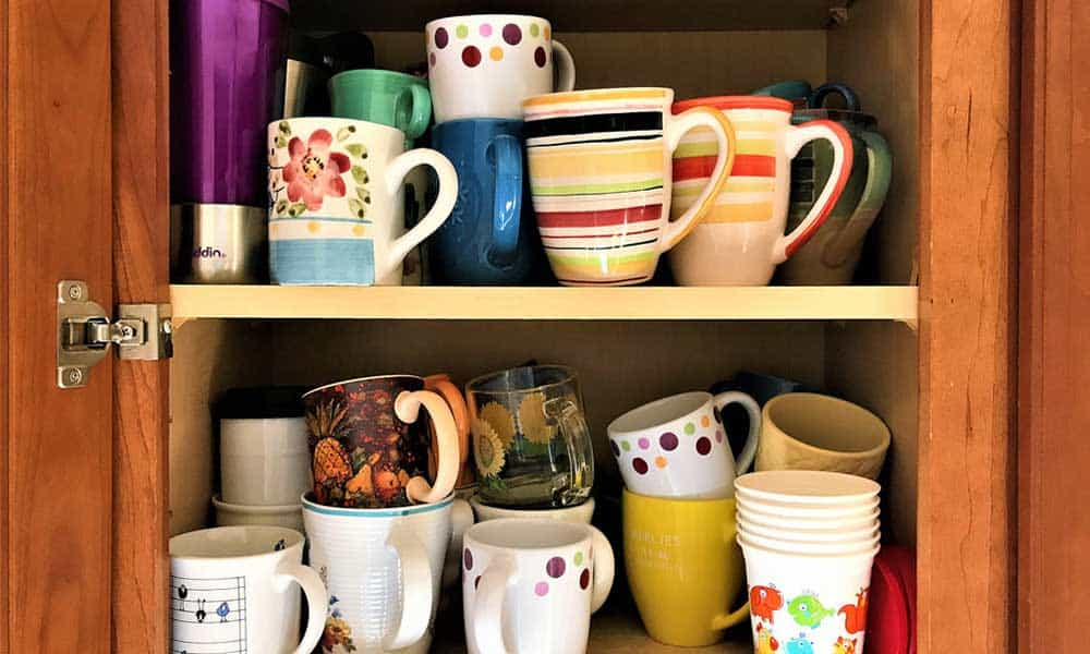 Keep your bullion secret and store it in a coffee cup at the back of the cupboard