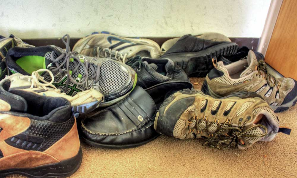 Keep your bullion secret and store it in old shoes and boots