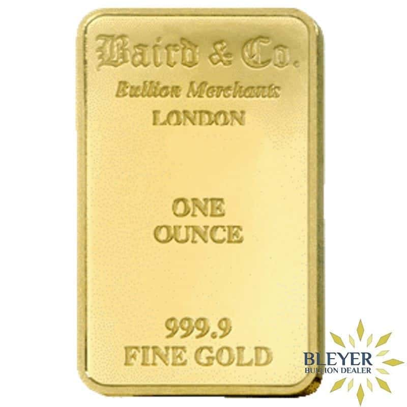 1oz Baird & Co Minted Gold Bar