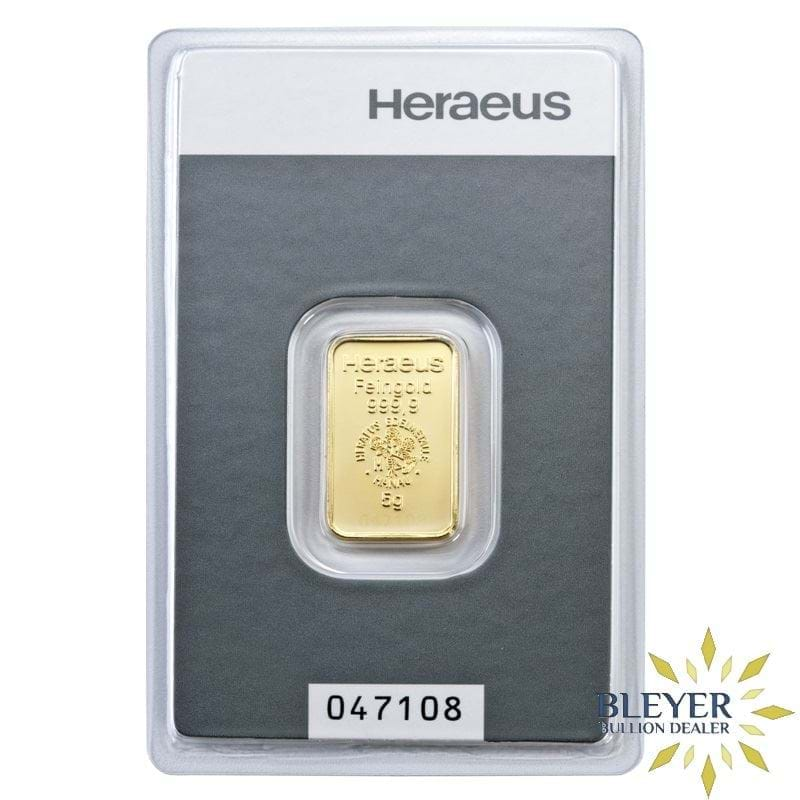 5g Heraeus Minted Gold Bar