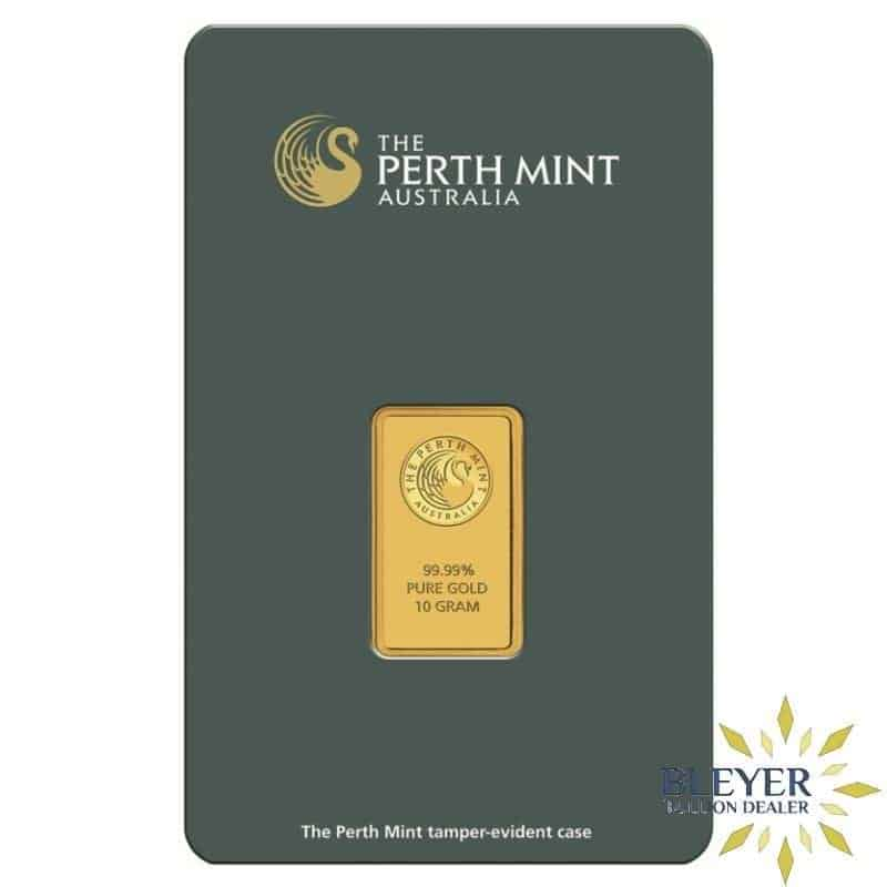 10g Perth Mint Gold Bar