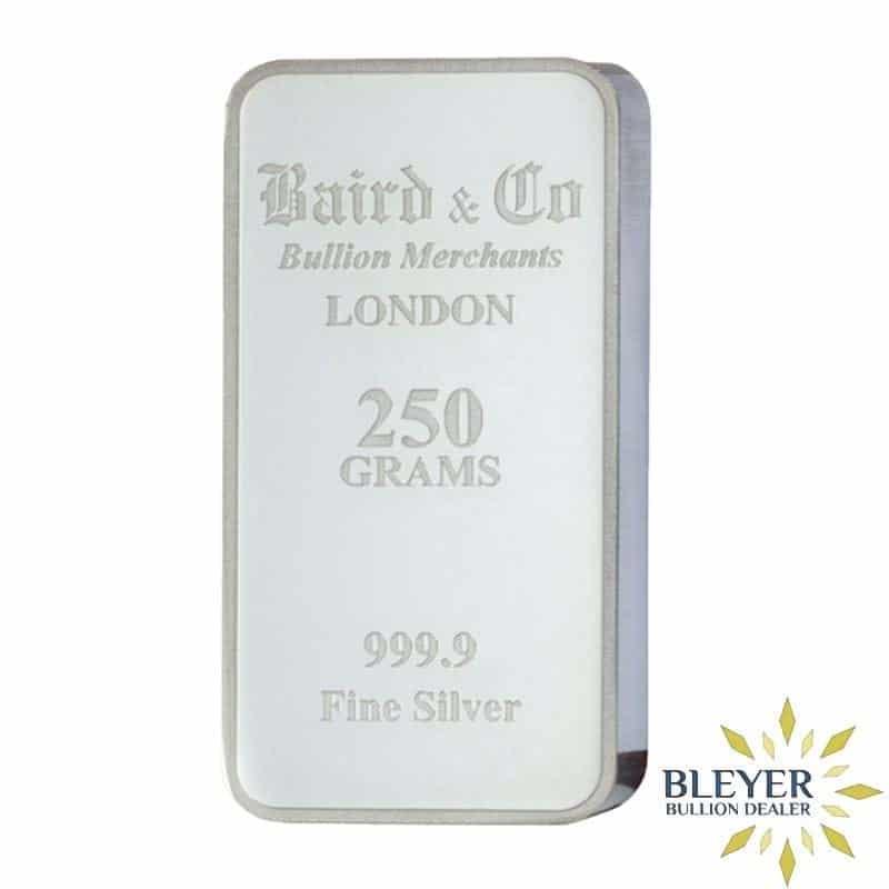250g Baird & Co Minted Silver Bar