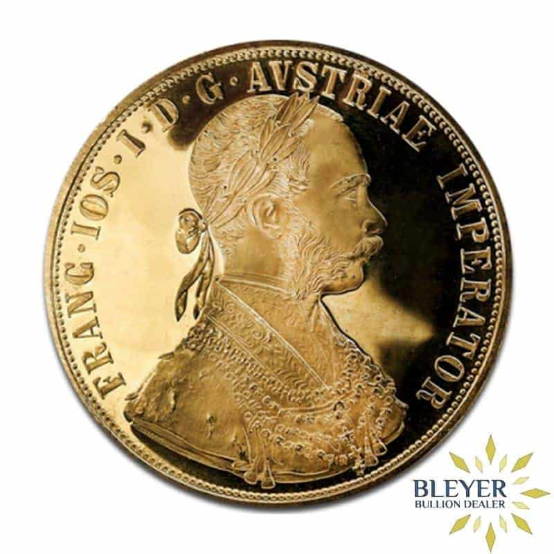 4 Ducats Austrian Gold Coin (New Edition)