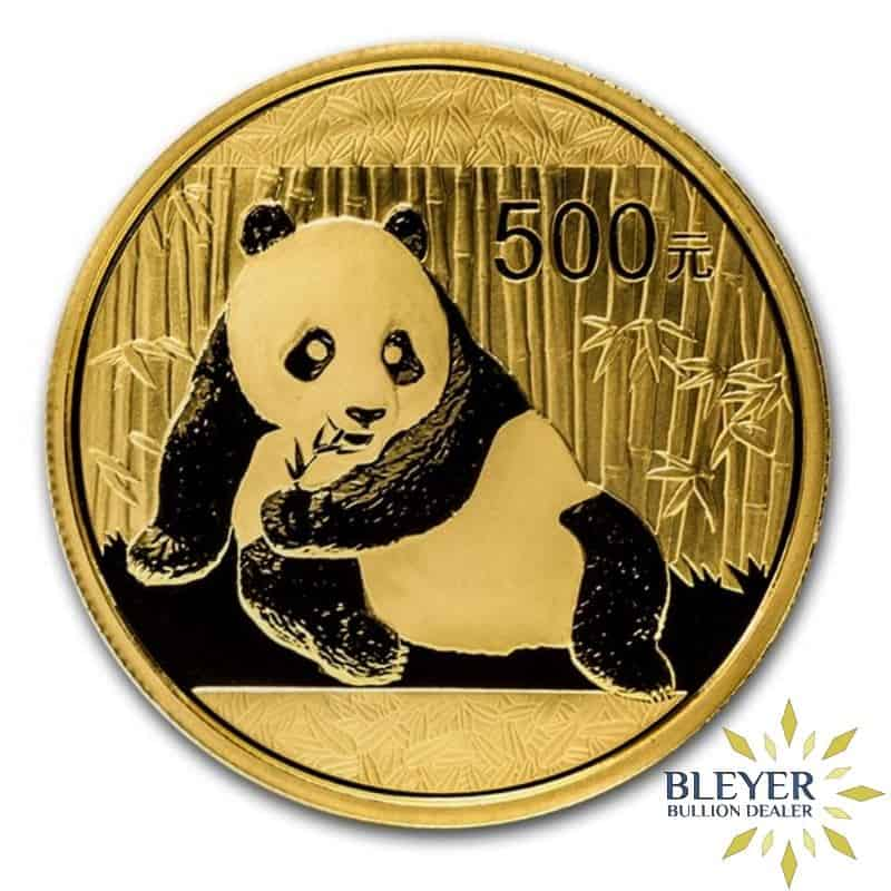 1oz Gold Chinese Panda Coin