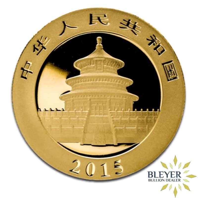 1oz Gold Chinese Panda Coin
