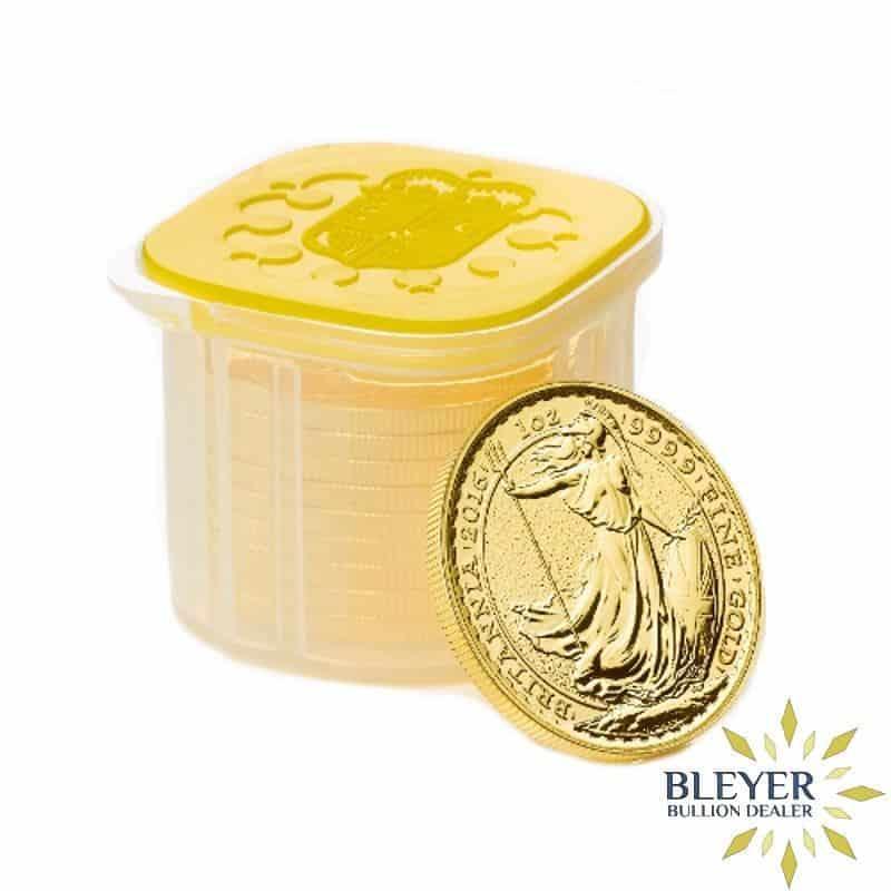 1oz Gold UK Britannia Coin (Mixed Years)