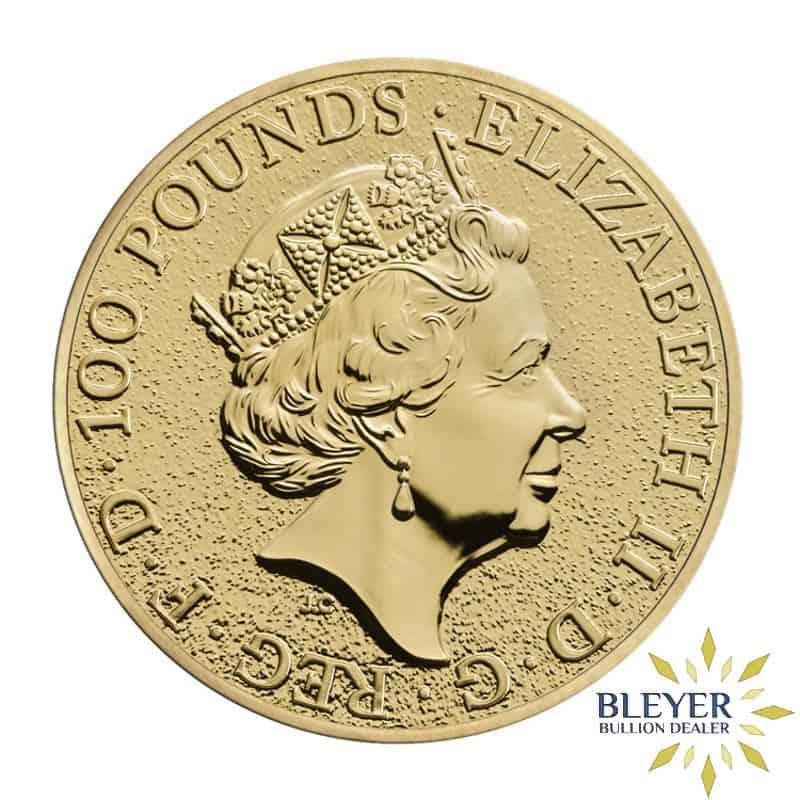1oz Gold UK Queen's Beasts Lion, 2016