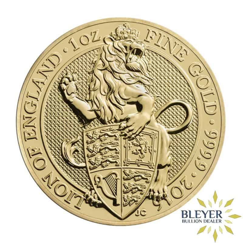 1oz Gold UK Queen's Beasts Lion, 2016