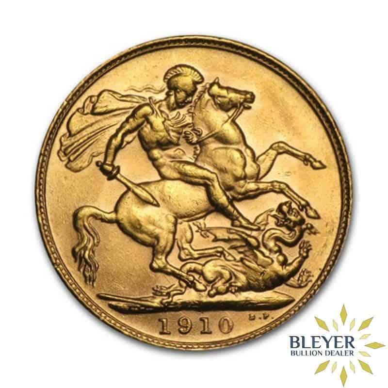 UK Gold Sovereign - Edward VII