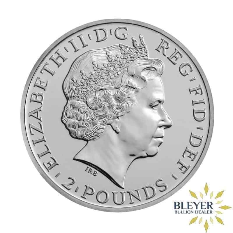 1oz Silver UK Lunar Sheep Coin, 2015