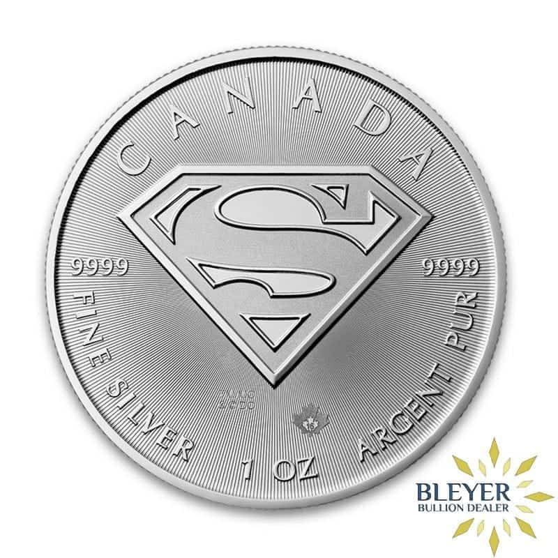 1oz Silver Canadian Superman Coin, 2016