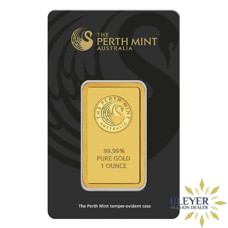 100g Perth Mint Gold Bar