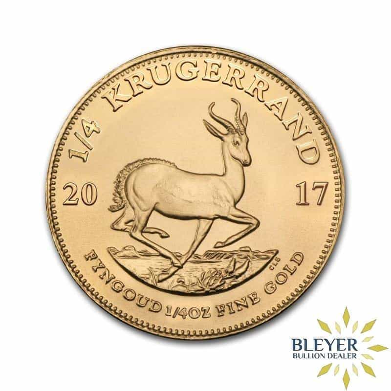1/4oz Gold South African Krugerrand Coin