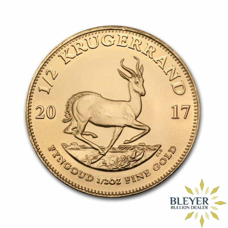 1/2oz Gold South African Krugerrand Coin