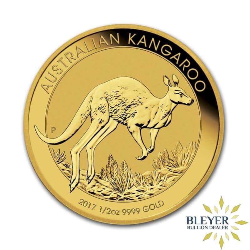 1/2oz Gold Australian Kangaroo Coin