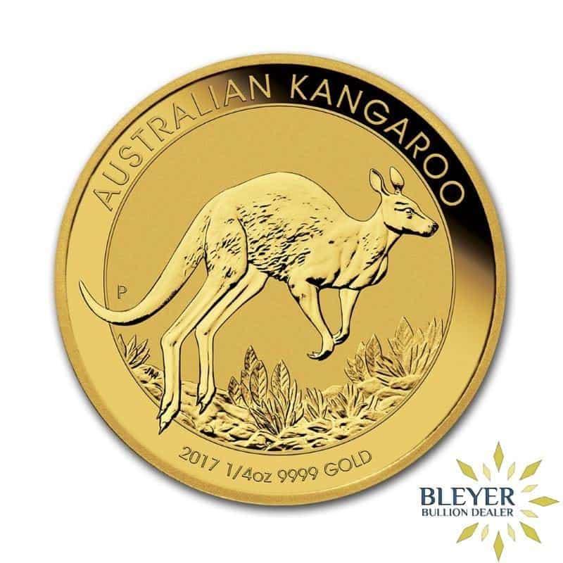 1/4oz Gold Australian Kangaroo Coin