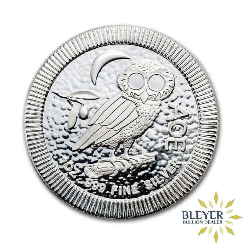 1oz Silver NIUE Athenian Owl Stackable Coin - 2020