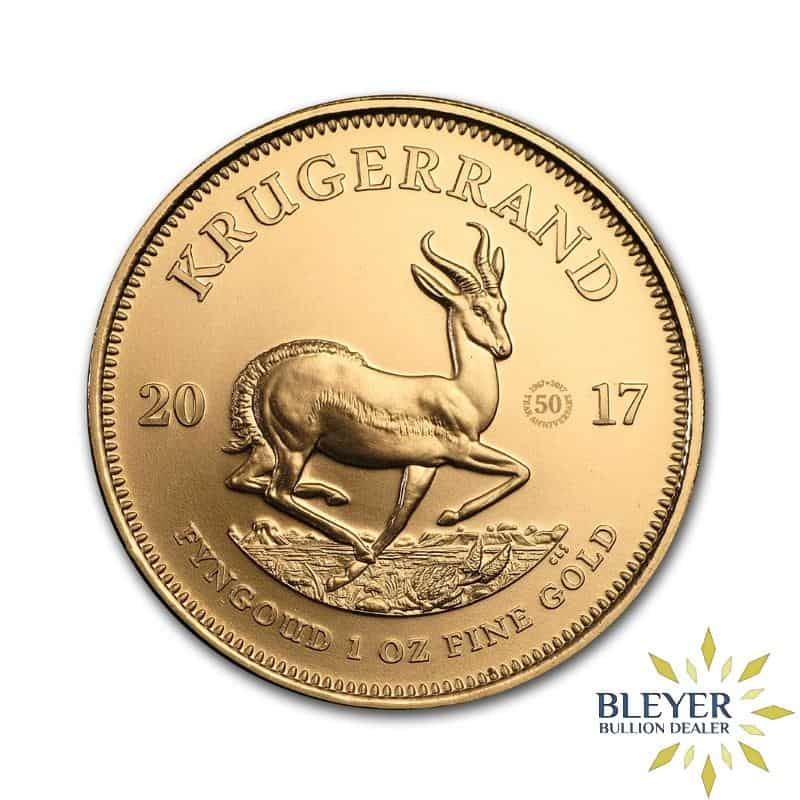 1oz Gold South African Krugerrand Coin (50th Anniversary)