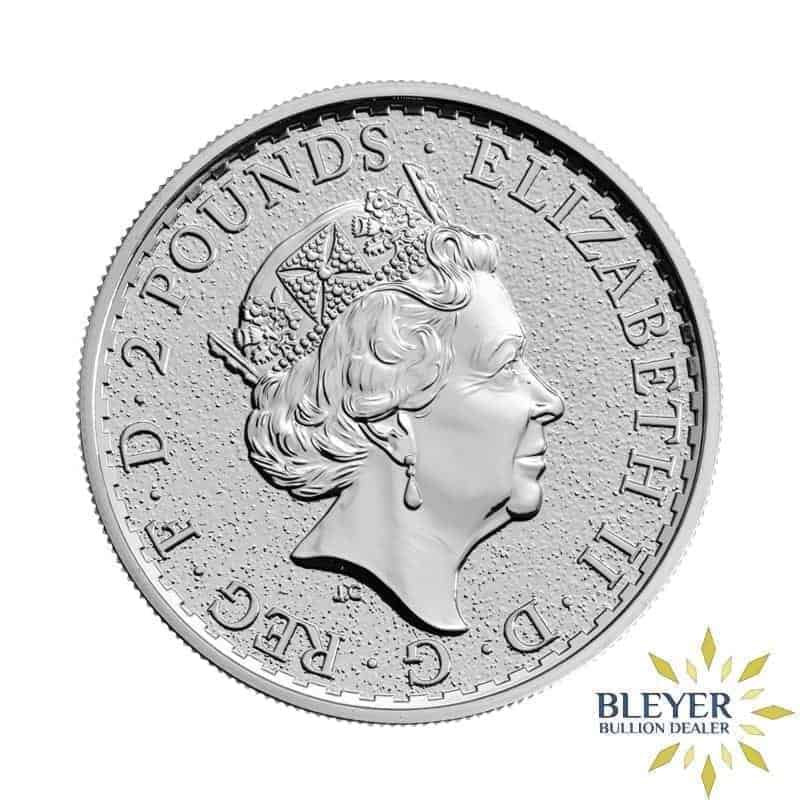 1oz Silver UK Lunar Rooster Coin, 2017