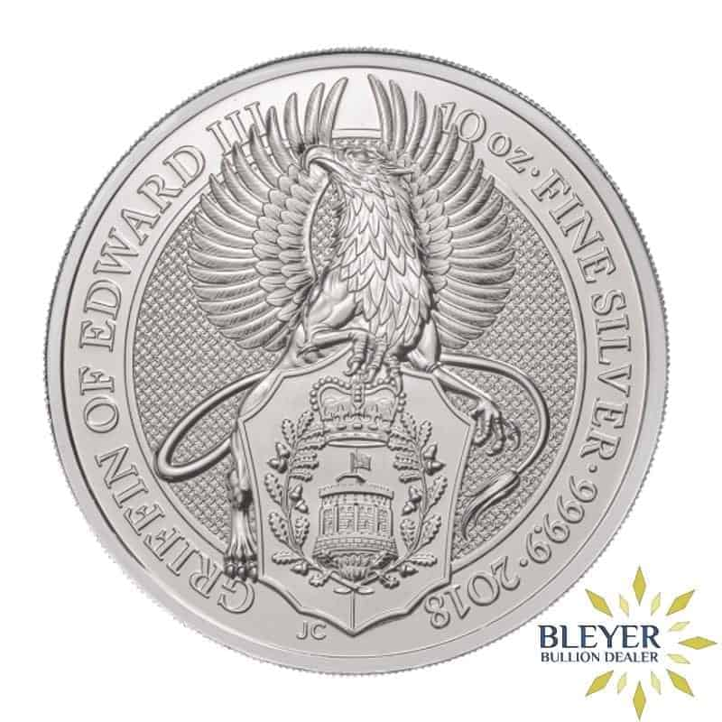 10oz Silver UK Queen's Beasts Griffin, 2018