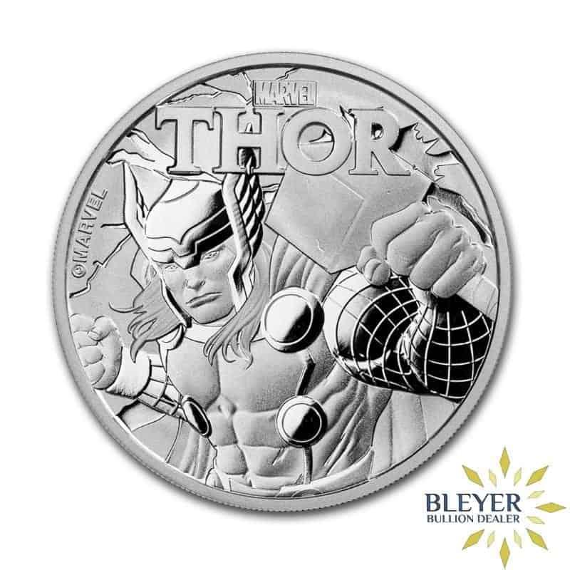 1oz Silver Tuvalu Marvel Thor Coin, 2018