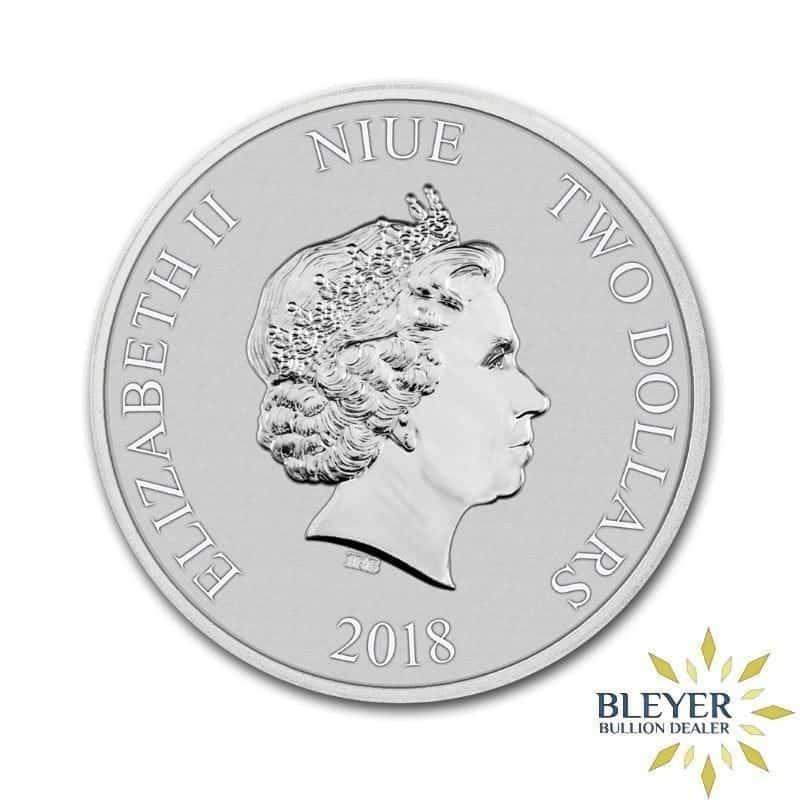 1oz Silver NIUE Stormtrooper Coin, 2018