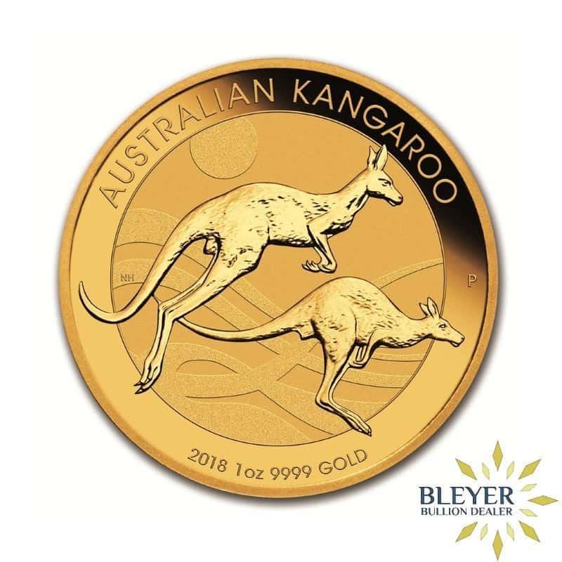 1oz Gold Australian Kangaroo Coin