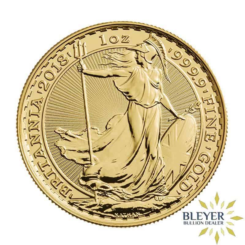 1oz Gold UK Britannia Coin, 2018