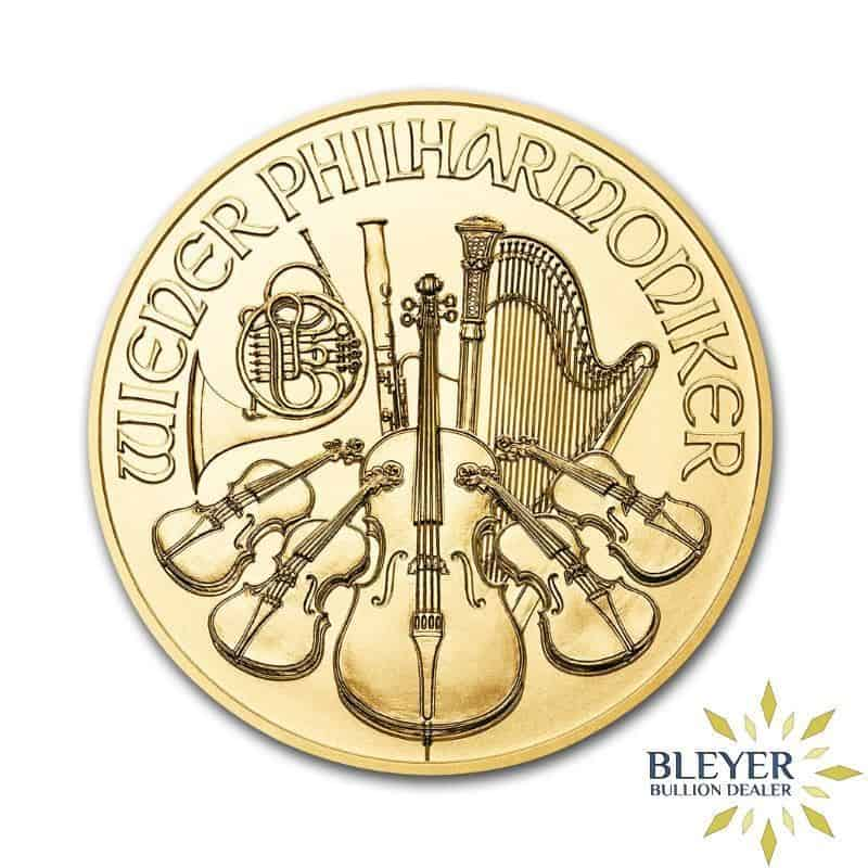 1/2oz Gold Austrian Philharmoniker Coin