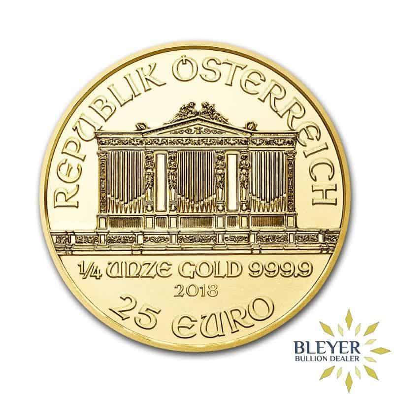 1/4oz  Gold Austrian Philharmoniker Coin