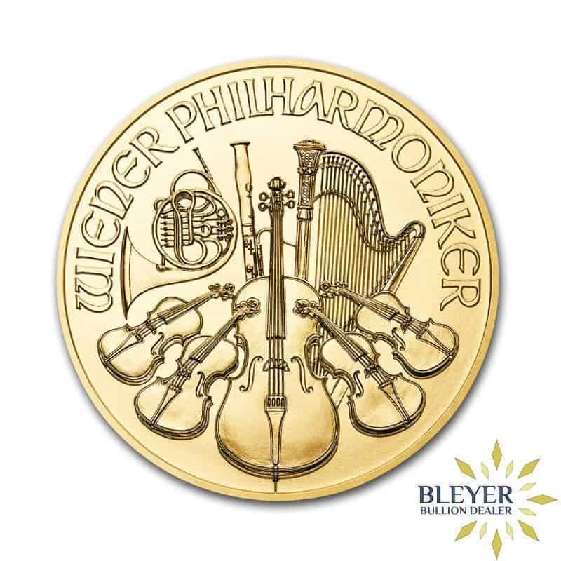 1oz Gold Austrian Philharmoniker Coin, 2019
