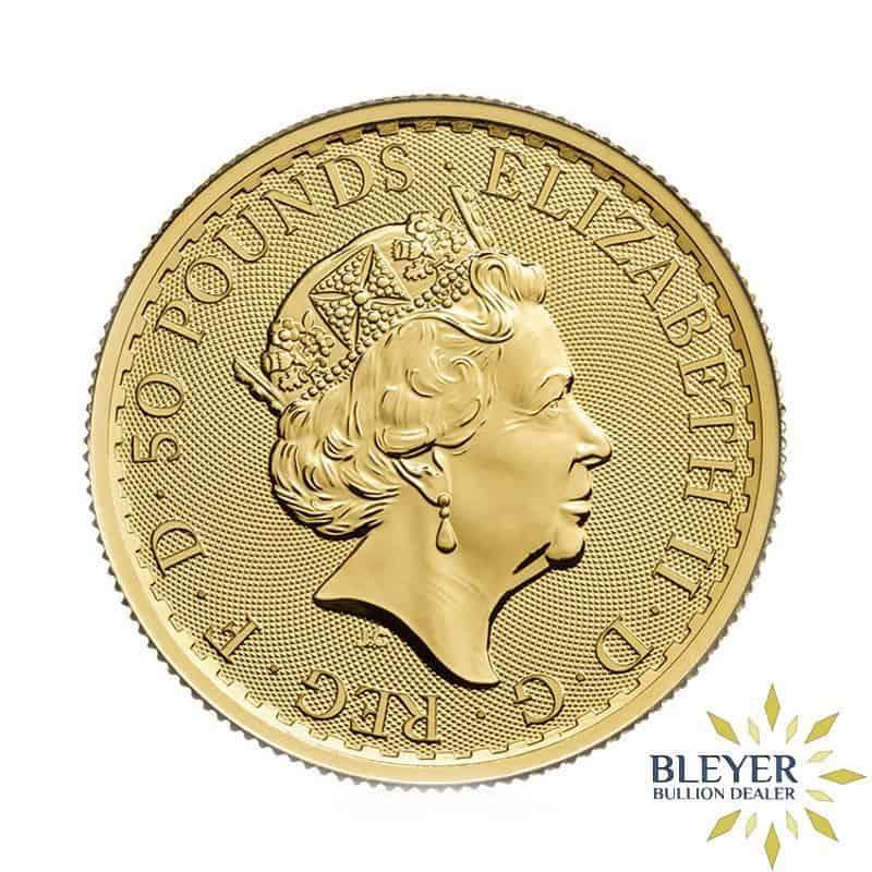 1/2oz Gold UK Britannia Coin