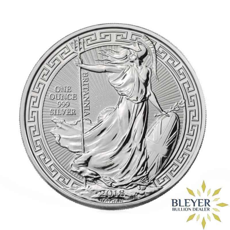 1oz Silver UK Oriental Border Britannia Coin, 2018