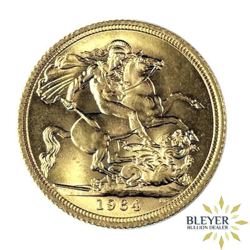 UK Gold Sovereign - Elizabeth II, Young Head