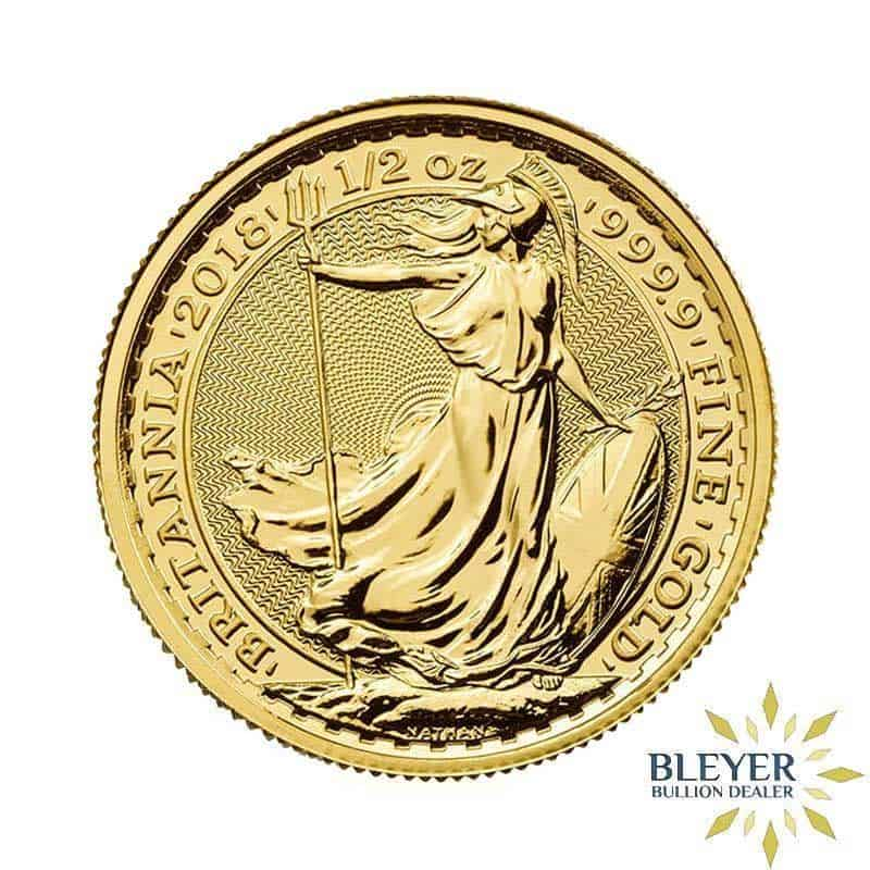 1/2oz Gold UK Britannia Coin
