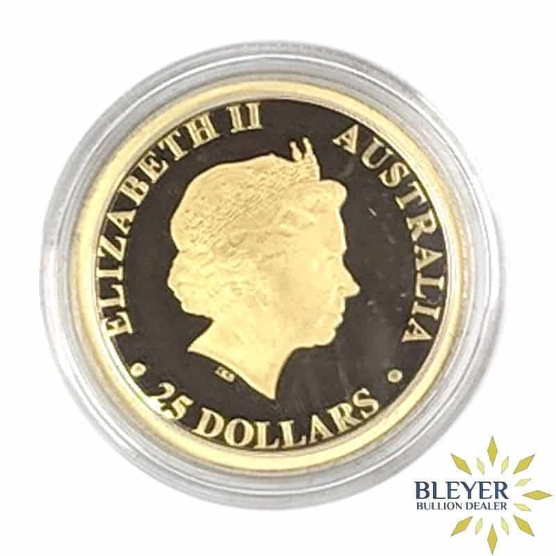 1/4oz Gold Proof Australian Kangaroo Coin, 2017
