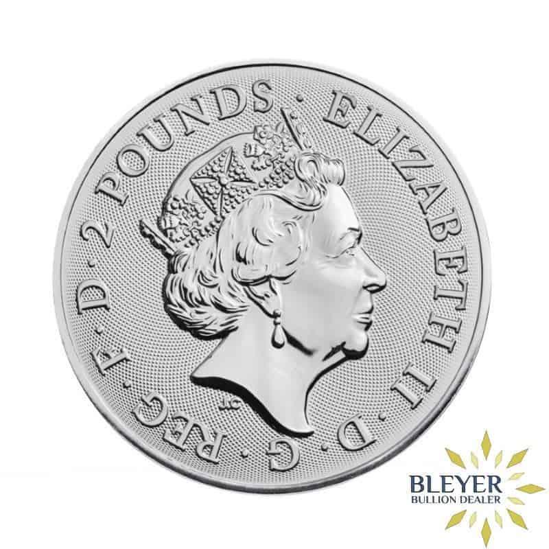 1oz Silver UK Landmarks of Britain - Trafalgar Square, 2018