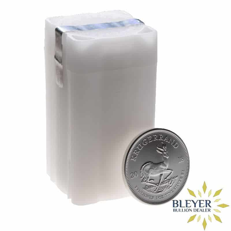 Silver Krugerrand Coin Tube - Empty